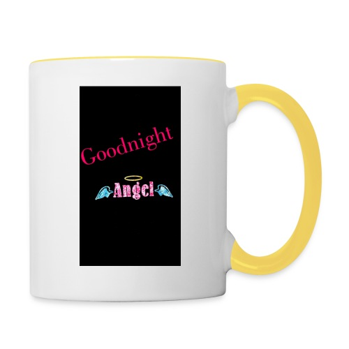 goodnight Angel Snapchat - Contrasting Mug