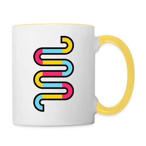 Die DNA deines Unternehmens - Tasse zweifarbig