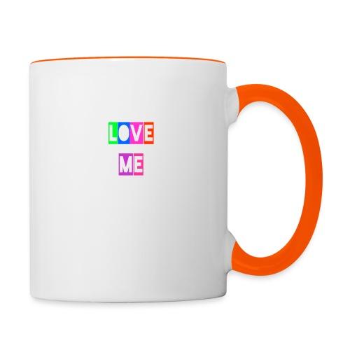 LoveMe - Taza en dos colores