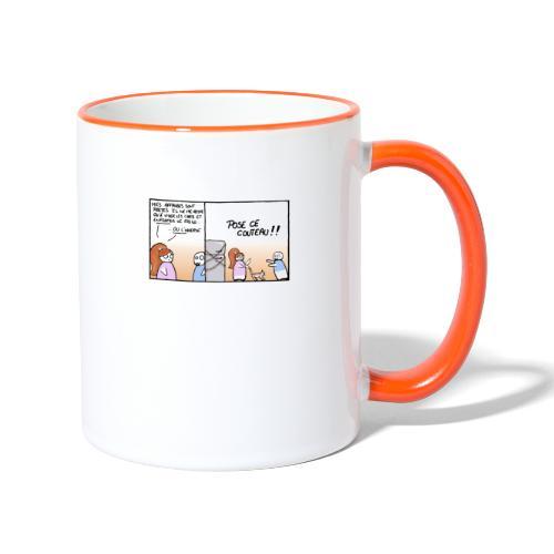 le quiproquo - Mug contrasté