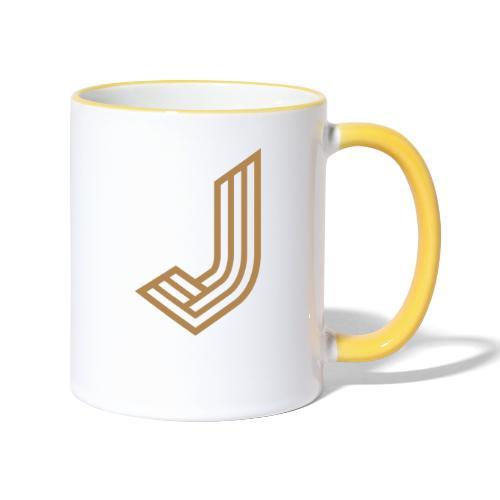 JurmalaJ - Tasse zweifarbig