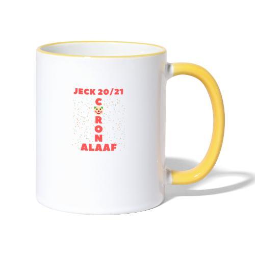 Corona Alaaf - Tasse zweifarbig
