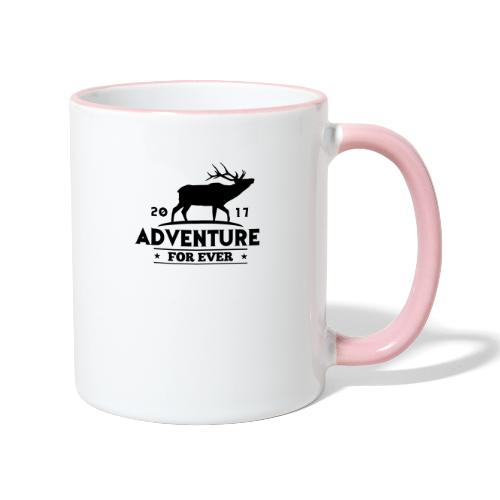 ADVENTURE FOR EVER - CERVO - Tazze bicolor