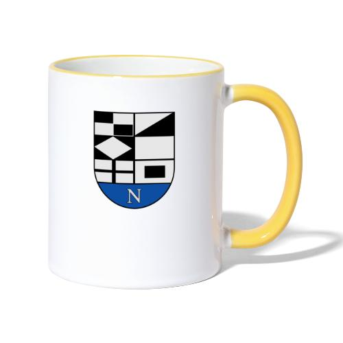 652px Coat of arms of Neringa Lithuania svg - Tasse zweifarbig
