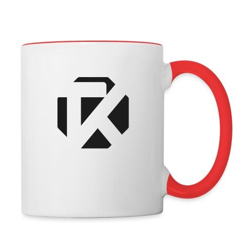 Logo TK Noir - Mug contrasté