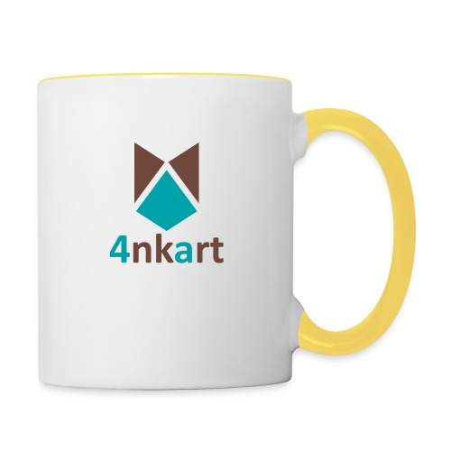 logo 4nkart - Mug contrasté