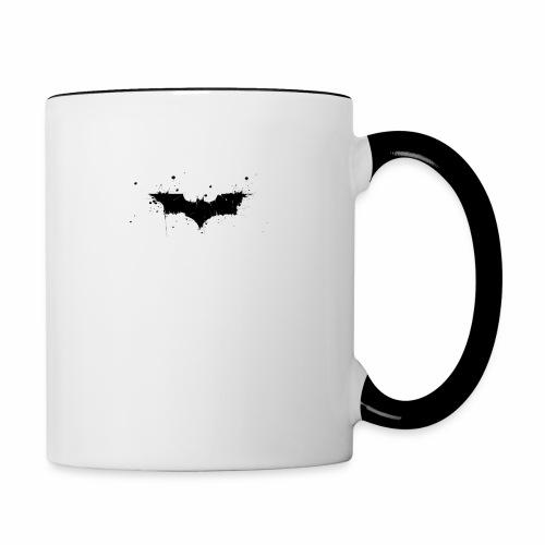 Fledermaus - Tasse zweifarbig