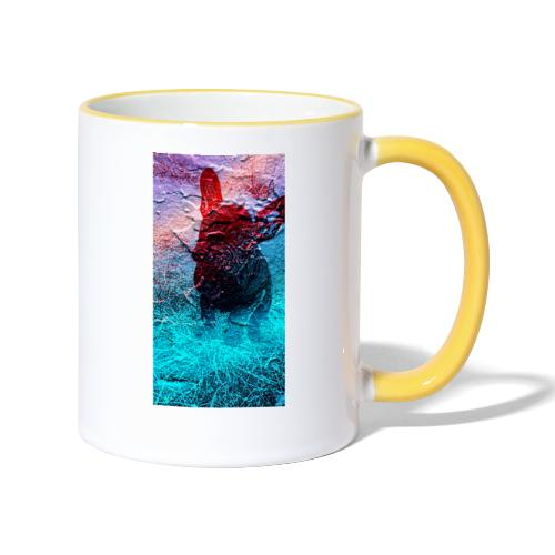 Sweet Frenchie - Tasse zweifarbig