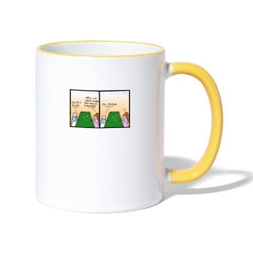billard - Mug contrasté