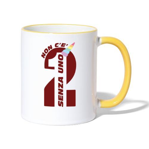 Logo nonceduesenzauno - Tazze bicolor