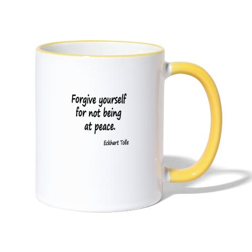 Forgive Yourself - Contrasting Mug