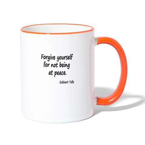 Forgive Yourself - Contrasting Mug