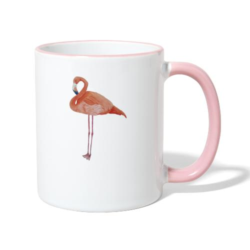 flamingo - Tofarvet krus