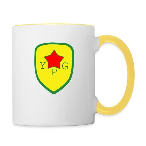Mens Green YPG Support Tee - Kaksivärinen muki