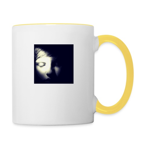 Dark chocolate - Contrasting Mug