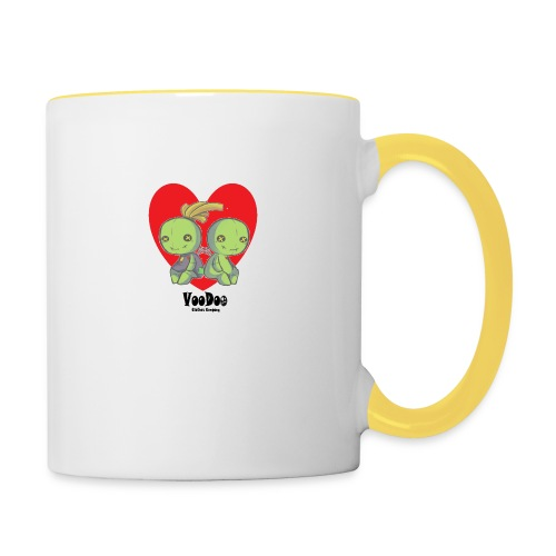 bhnvdloove-png - Taza en dos colores