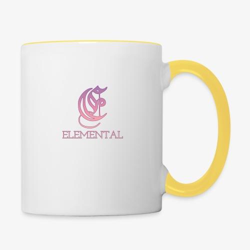 Elemental Pink - Contrasting Mug