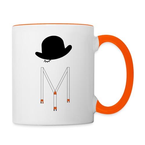Orange Méca - Mug contrasté