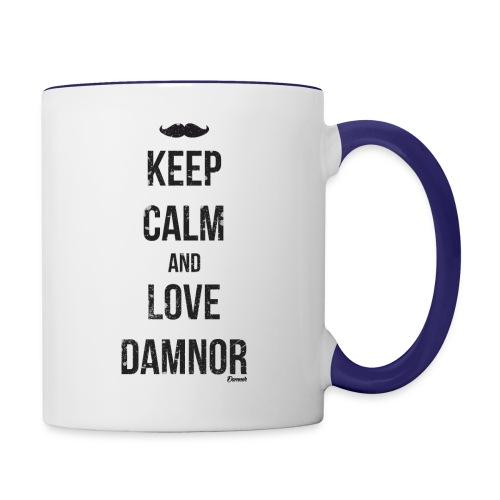 Keep calm and ... (F) - Mug contrasté