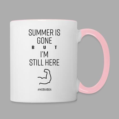 SUMMER IS GONE but I'M STILL HERE - Contrasting Mug