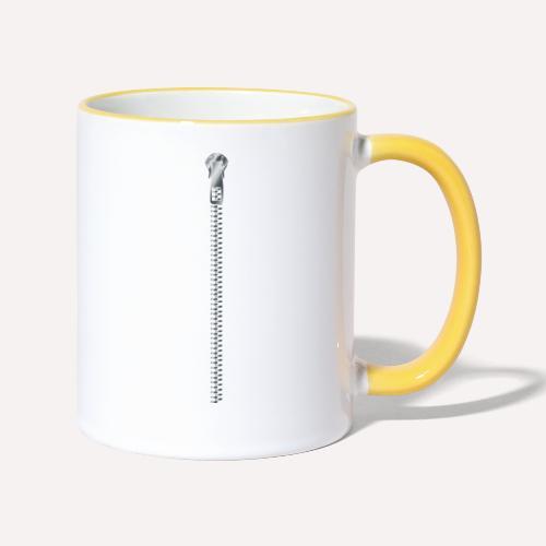 Zipper print - Contrasting Mug