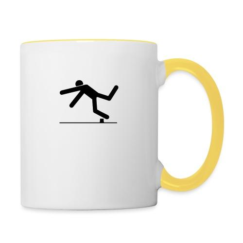 TripAndSmash Logo - Contrasting Mug