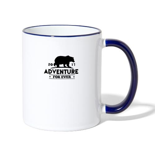 ADVENTURE FOR EVER - GRIZZLY - Tazze bicolor