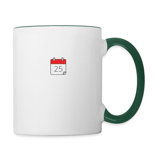 count down - Contrasting Mug