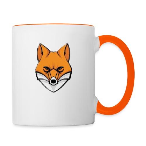 the fox loggan - Tvåfärgad mugg