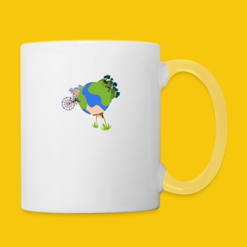 Terra Traveler - Mug contrasté