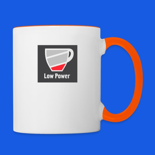 Low power need refill - Tofarvet krus