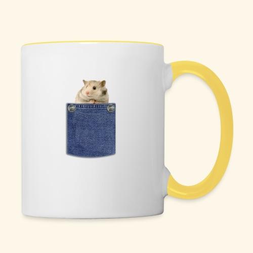 hamster in the poket - Tazze bicolor