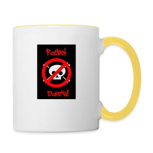 Fatboi Dares's logo - Contrasting Mug