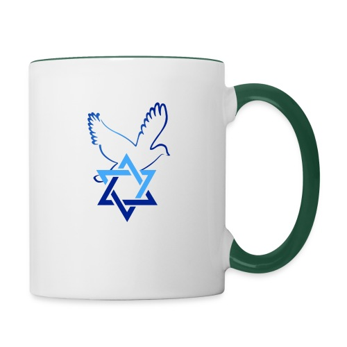 Shalom I - Tasse zweifarbig