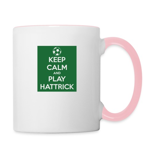 keep calm and play hattrick - Tazze bicolor