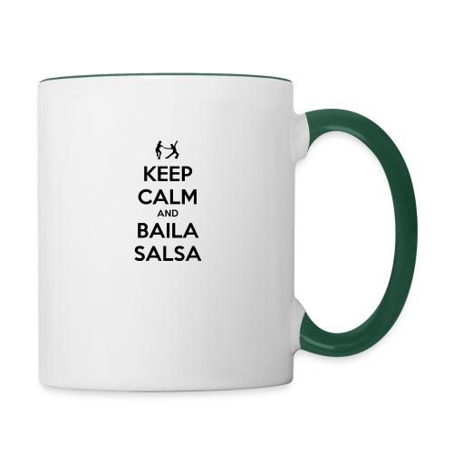 keep-calm-and-baila-salsa-41 - Tazze bicolor