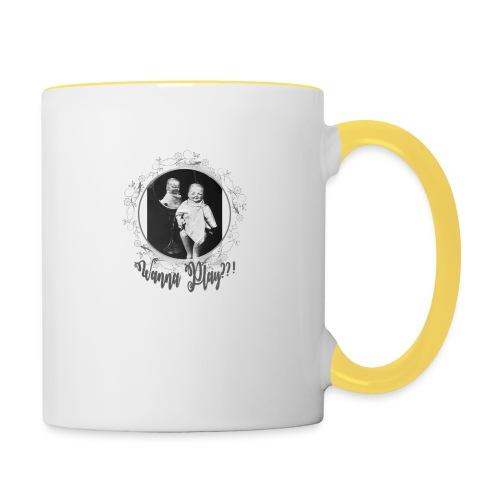 Wanna play - Contrasting Mug