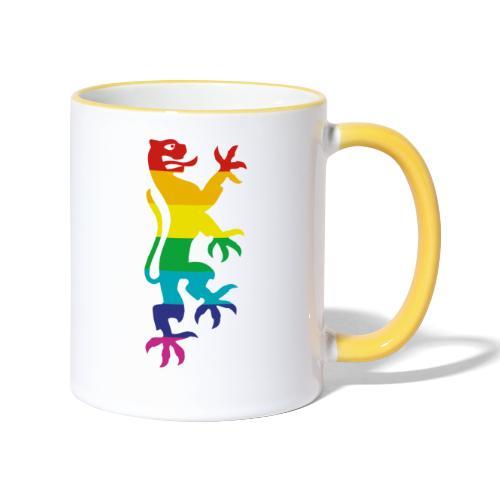 Logo ohne Text - Tasse zweifarbig
