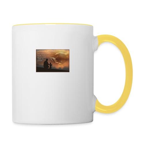 Citation - Mug contrasté