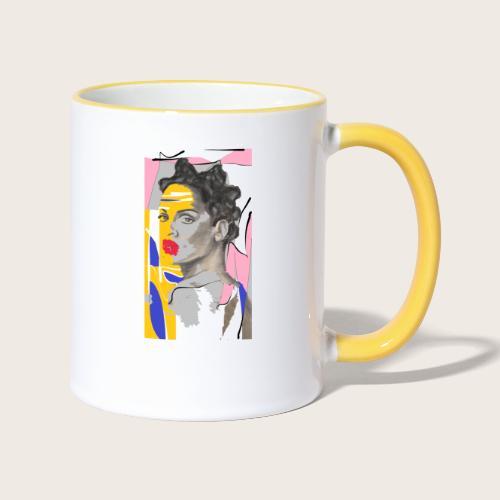 Surprise - Tasse zweifarbig