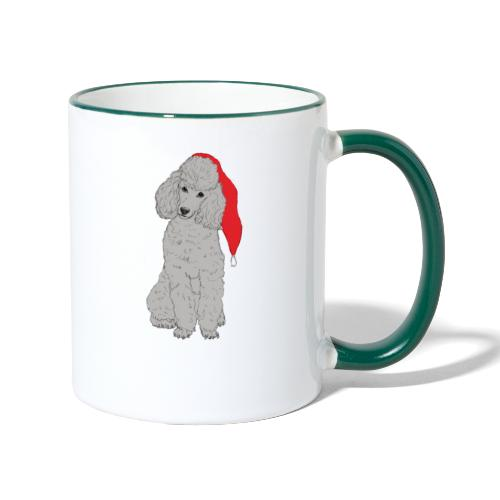 Poodle toy G - christmas - Tofarvet krus