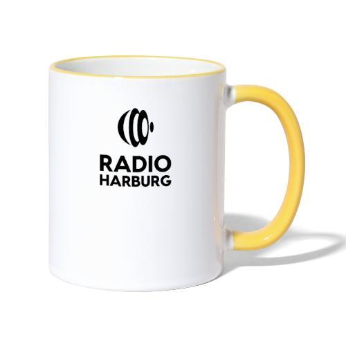Radio Harburg - Tasse zweifarbig