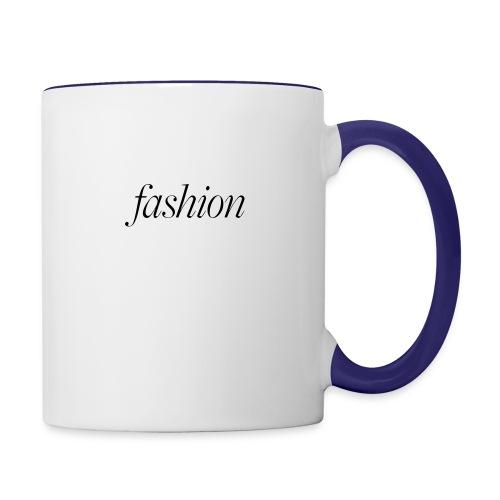 fashion - Mok tweekleurig