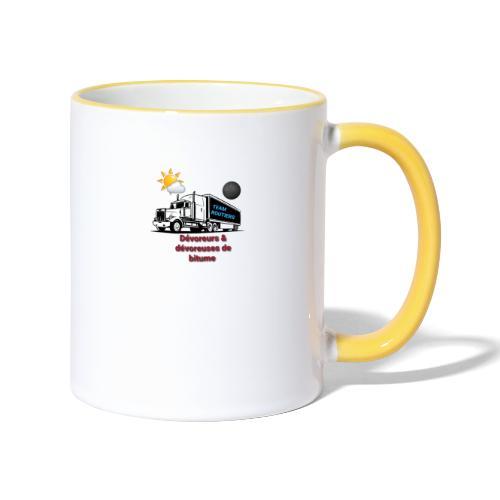 Team routiers - Mug contrasté