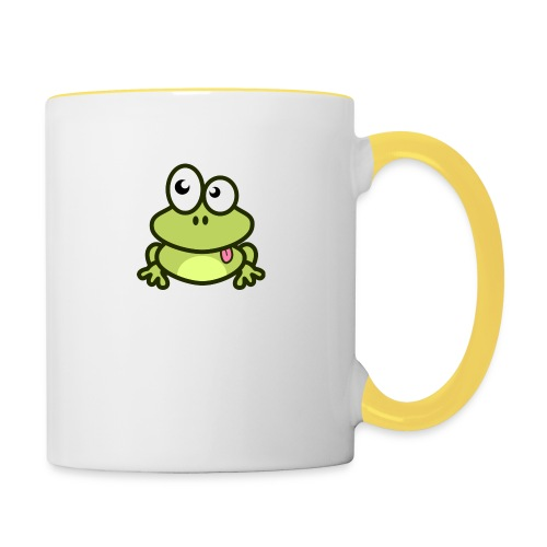 Frog Tshirt - Contrasting Mug