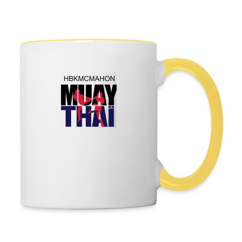 Hbkmcmahon Muay Thai Store - Contrasting Mug