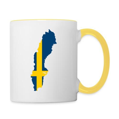 Sweden - Mok tweekleurig