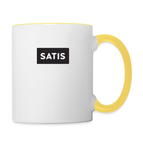 satis - Mug contrasté