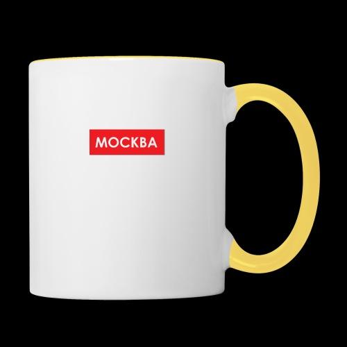 Moskau - Utoka - Tasse zweifarbig