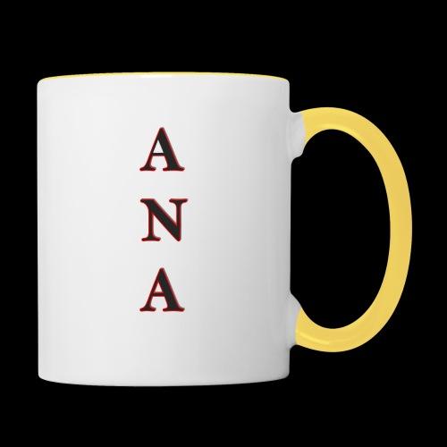 ANA - Taza en dos colores